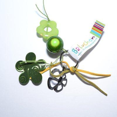 Porte-clés vert