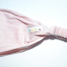 Bandeau cheveux rose pale