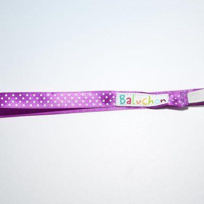Bandeau à cheveux violet