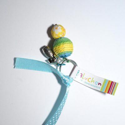 Porte-clés vert poupée russe