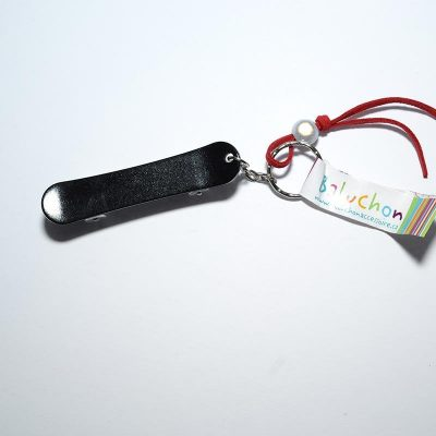Porte-clés skate board noir
