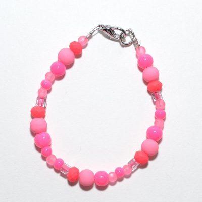 Bracelet fille, rose