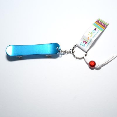 Porte-clés skate board turquoise