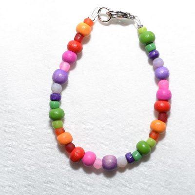Bracelet enfant fille multicolore