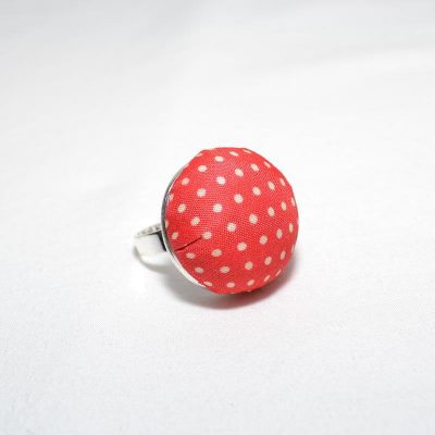 Bague dame rouge