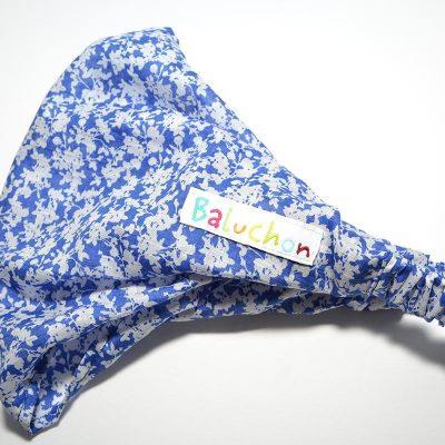 Bandeau à cheveux bleu