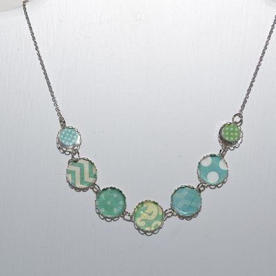 Collier dame turquoise