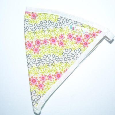 Bandeau triangle cheveux petite fleur