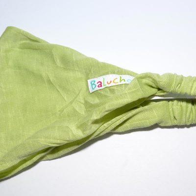 Bandeau cheveux vert lime