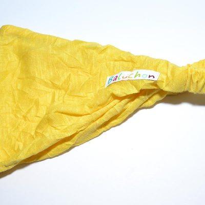 Bandeau cheveux jaune