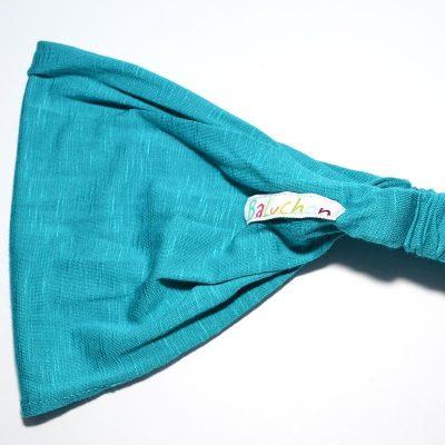 Bandeau cheveux turquoise