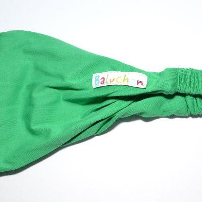 Bandeau cheveux vert kelly