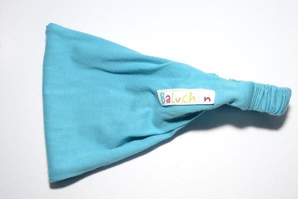 Bandeau cheveux bleu pale