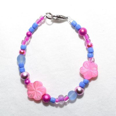 Bracelet enfant fille lilas