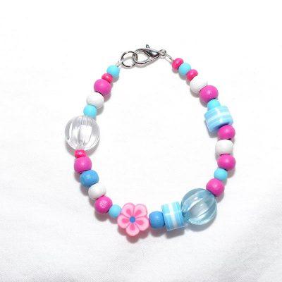 Bracelet fille bleu