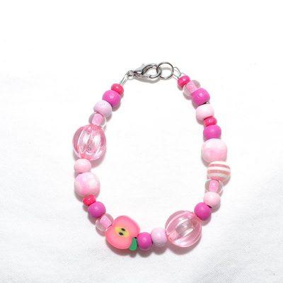 Bracelet fille fuchsia