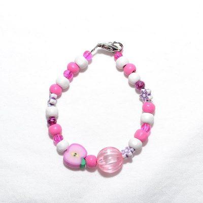 Bracelet fille lilas