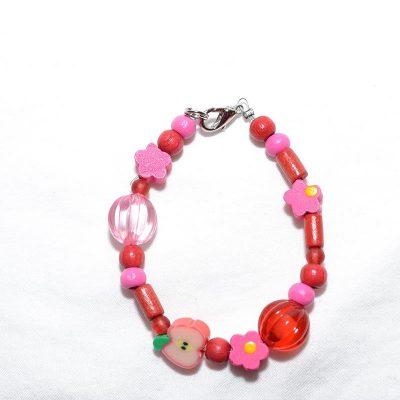Bracelet fille rouge