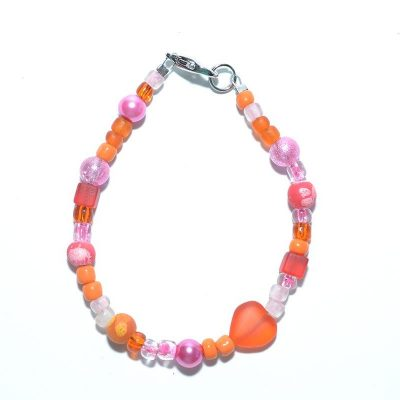 Bracelet fille orange