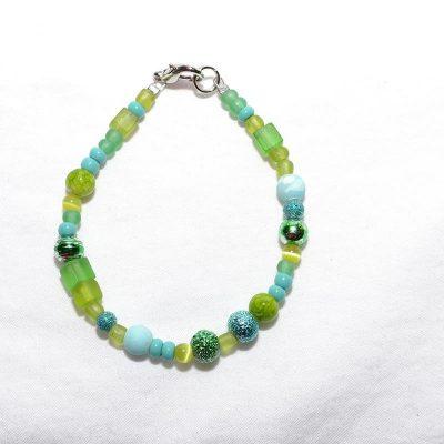 Bracelet fille turquoise