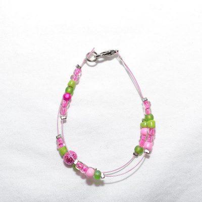 Bracelet fille rose