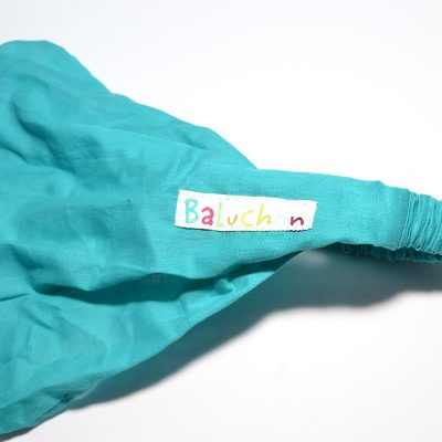 Bandeau enfant turquoise