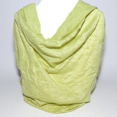 Foulard tube vert
