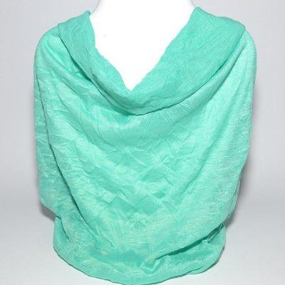 Foulard tube turquoise