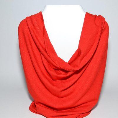 Foulard tube rouge