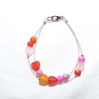 Bracelet junior fille orange
