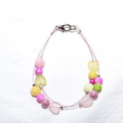 Bracelet junior fille vert